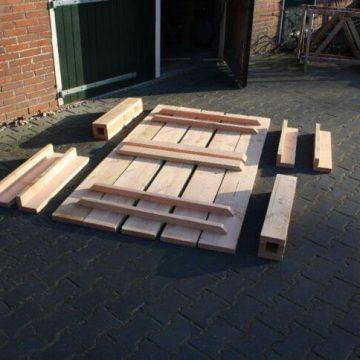 Afbeelding Beuckenroode tuintafel als bouwpakket