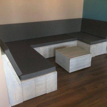 beuckenroode interieur loungebank u_vorm met kussens