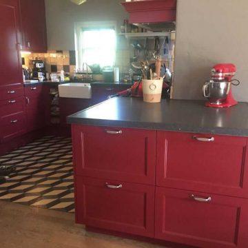 Afbeelding Beuckenroode keuken rood