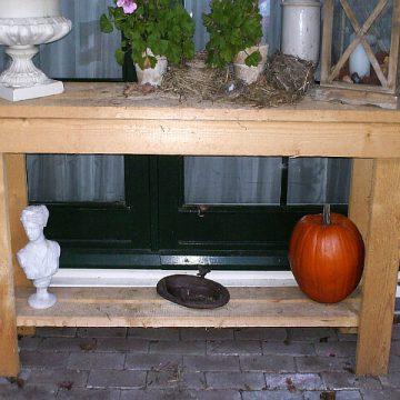Afbeelding Beuckenroode meubelmaker lampenvoet sidetable