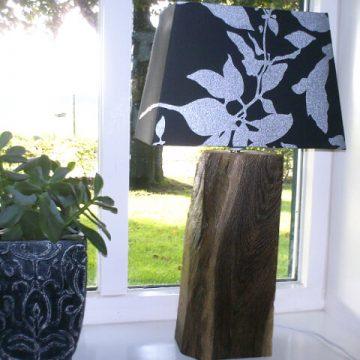 Afbeelding Beuckenroode meubelmaker lampenvoet hout