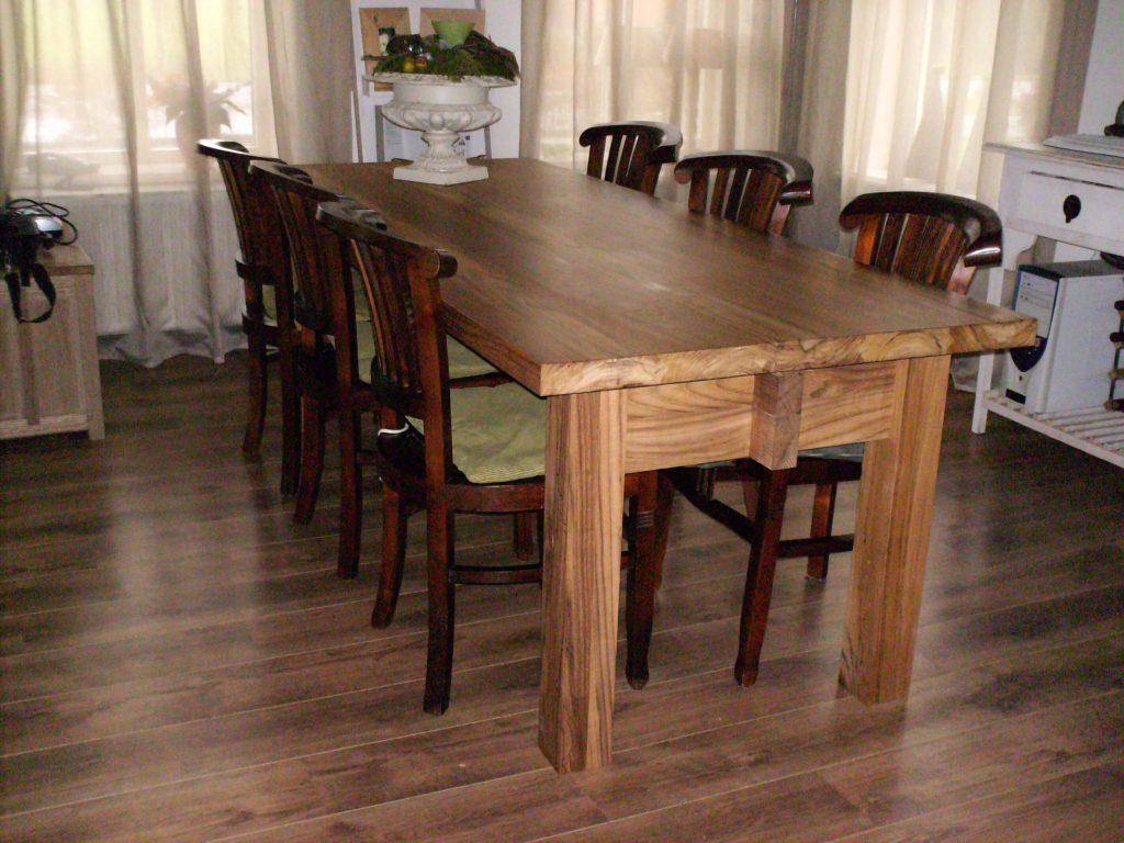 Afbeelding Beuckenroode meubelmaker tafel rechthoek