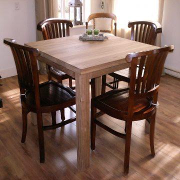 Afbeelding Beuckenroode meubelmaker tafel vierkant