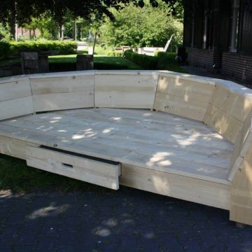 Afbeelding Beuckenroode meubelmaker tuinbank lounge