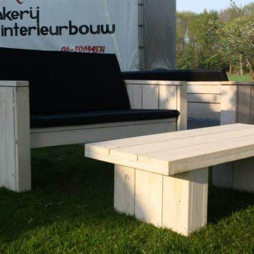 Afbeelding Beuckenroode meubelmaker tuintafel en loungebank