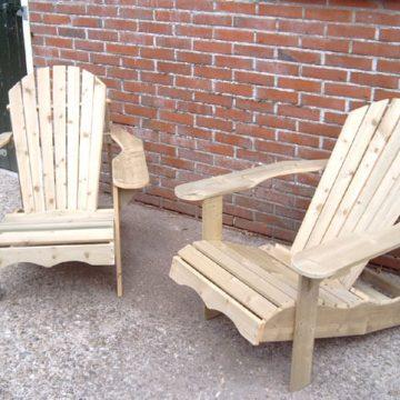 Afbeelding Beuckenroode meubelmaker twee tuinstoelen