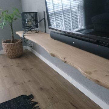 AFbeelding Beuckenroode wandplank eiken