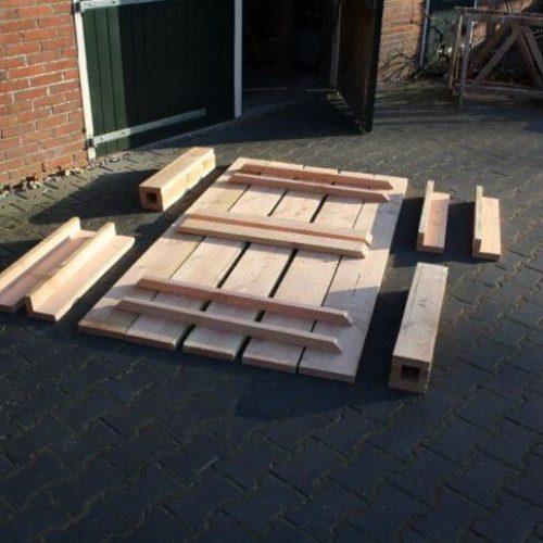 Afbeelding Beuckenroode bouwpakket tuintafel